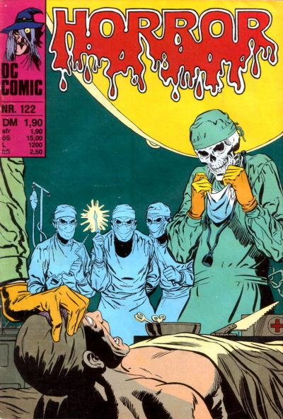 Cover for Horror (BSV - Williams, 1972 series) #122