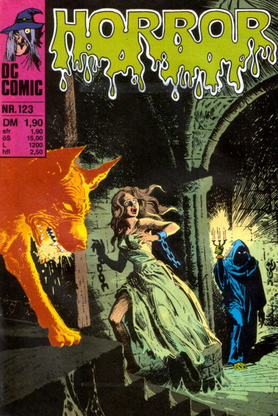 Cover for Horror (BSV - Williams, 1972 series) #123