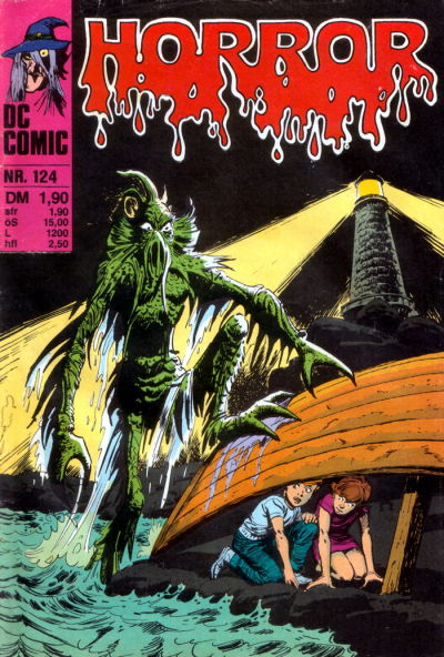 Cover for Horror (BSV - Williams, 1972 series) #124
