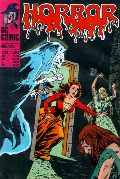 Cover for Horror (BSV - Williams, 1972 series) #125