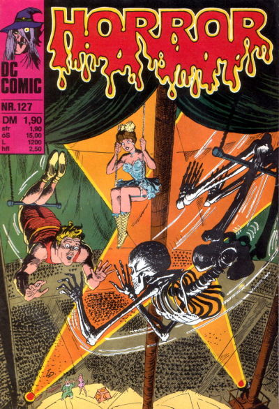 Cover for Horror (BSV - Williams, 1972 series) #127