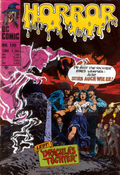 Cover for Horror (BSV - Williams, 1972 series) #130