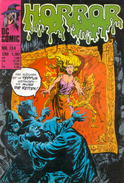 Cover for Horror (BSV - Williams, 1972 series) #134