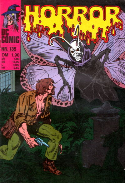Cover for Horror (BSV - Williams, 1972 series) #135