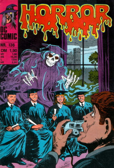 Cover for Horror (BSV - Williams, 1972 series) #136