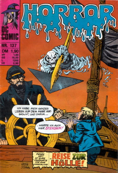 Cover for Horror (BSV - Williams, 1972 series) #137