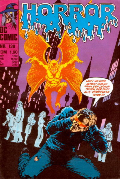 Cover for Horror (BSV - Williams, 1972 series) #138