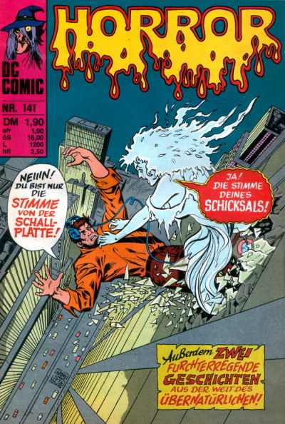 Cover for Horror (BSV - Williams, 1972 series) #141