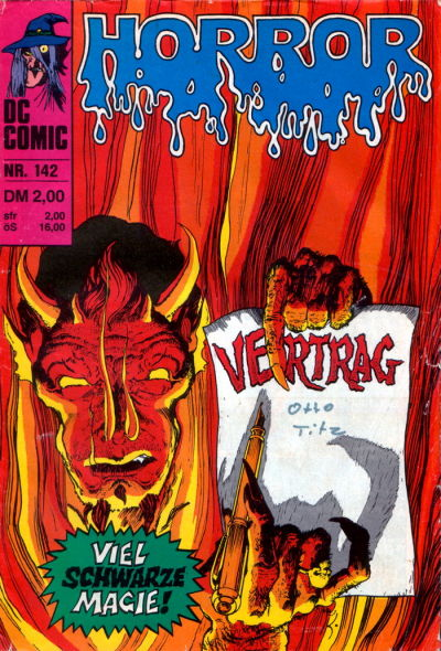Cover for Horror (BSV - Williams, 1972 series) #142