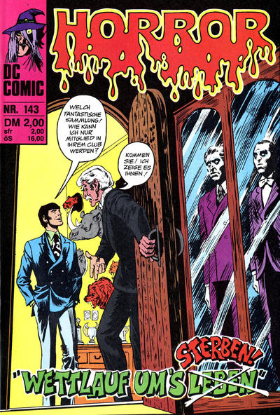 Cover for Horror (BSV - Williams, 1972 series) #143