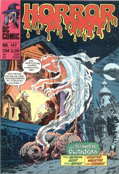 Cover for Horror (BSV - Williams, 1972 series) #147