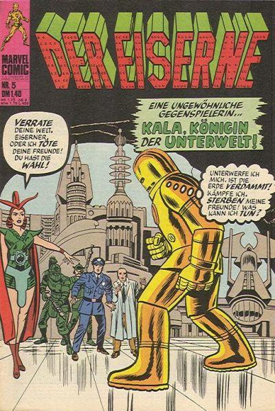 Cover for Der Eiserne (BSV - Williams, 1975 series) #5