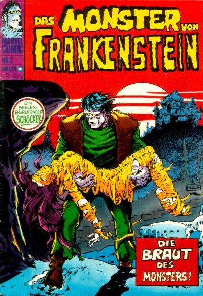 Cover for Frankenstein (BSV - Williams, 1974 series) #2