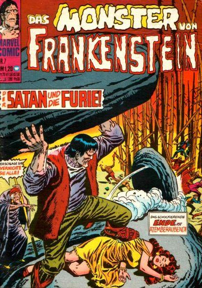 Cover for Das Monster von Frankenstein (BSV - Williams, 1974 series) #7