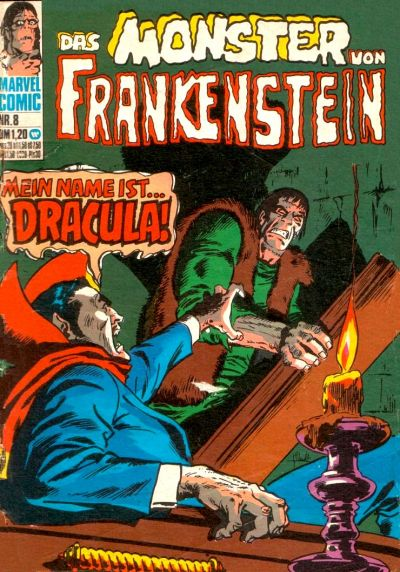Cover for Frankenstein (BSV - Williams, 1974 series) #8