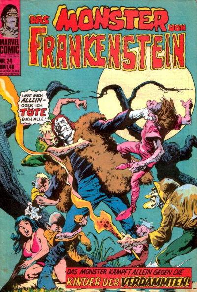 Cover for Frankenstein (BSV - Williams, 1974 series) #24