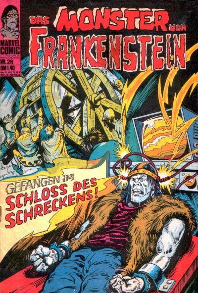 Cover for Das Monster von Frankenstein (BSV - Williams, 1974 series) #26