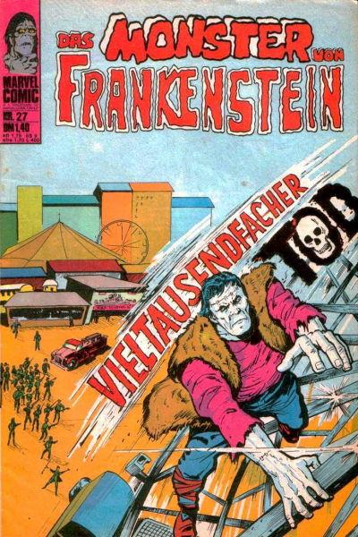 Cover for Das Monster von Frankenstein (BSV - Williams, 1974 series) #27