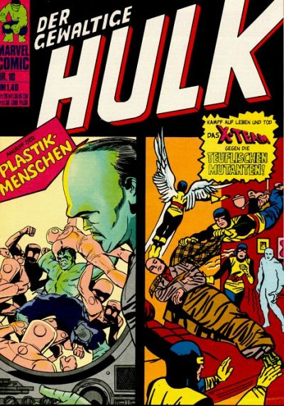 Cover for Hulk (BSV - Williams, 1974 series) #10