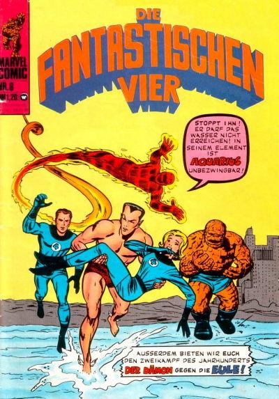 Cover for Die Fantastischen Vier (BSV - Williams, 1974 series) #6