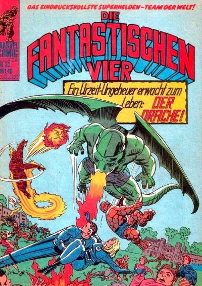 Cover for Die Fantastischen Vier (BSV - Williams, 1974 series) #32