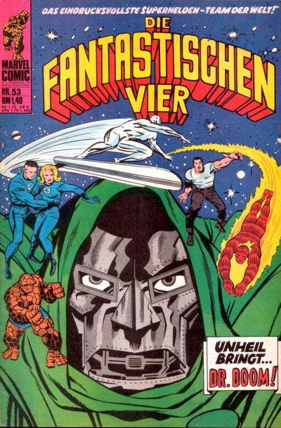 Cover for Die Fantastischen Vier (BSV - Williams, 1974 series) #53