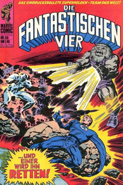 Cover for Die Fantastischen Vier (BSV - Williams, 1974 series) #58