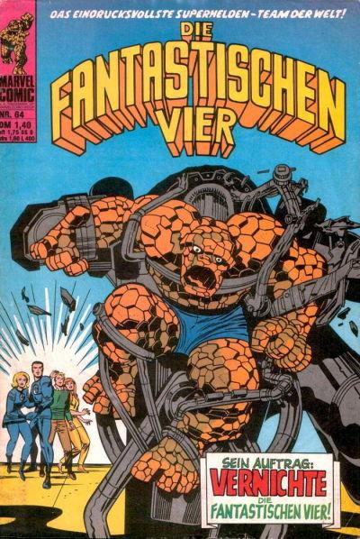 Cover for Die Fantastischen Vier (BSV - Williams, 1974 series) #64