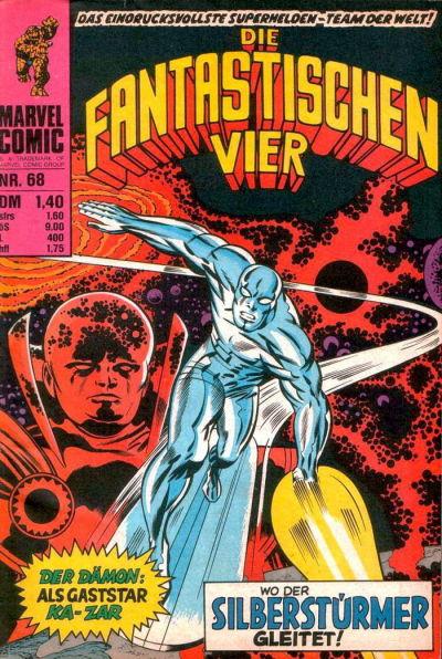 Cover for Die Fantastischen Vier (BSV - Williams, 1974 series) #68