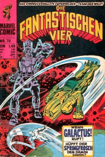 Cover for Die Fantastischen Vier (BSV - Williams, 1974 series) #70