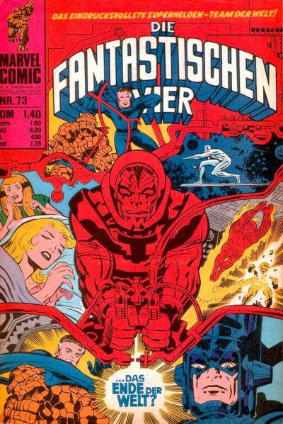 Cover for Die Fantastischen Vier (BSV - Williams, 1974 series) #73