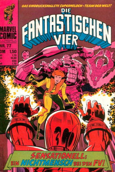 Cover for Die Fantastischen Vier (BSV - Williams, 1974 series) #77