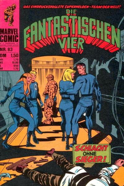 Cover for Die Fantastischen Vier (BSV - Williams, 1974 series) #83