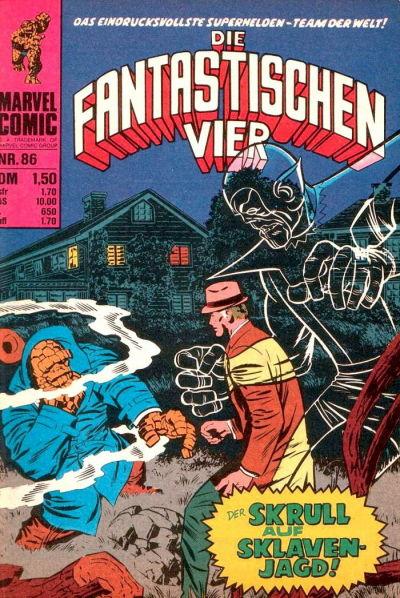 Cover for Die Fantastischen Vier (BSV - Williams, 1974 series) #86