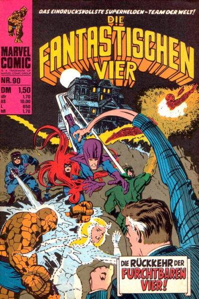 Cover for Die Fantastischen Vier (BSV - Williams, 1974 series) #90