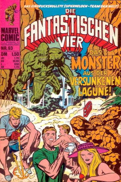 Cover for Die Fantastischen Vier (BSV - Williams, 1974 series) #93