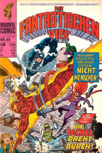 Cover for Die Fantastischen Vier (BSV - Williams, 1974 series) #95