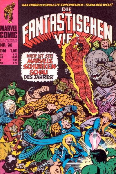 Cover for Die Fantastischen Vier (BSV - Williams, 1974 series) #96