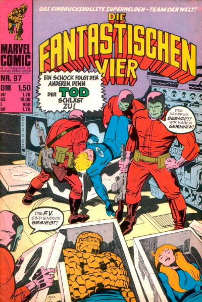 Cover for Die Fantastischen Vier (BSV - Williams, 1974 series) #97