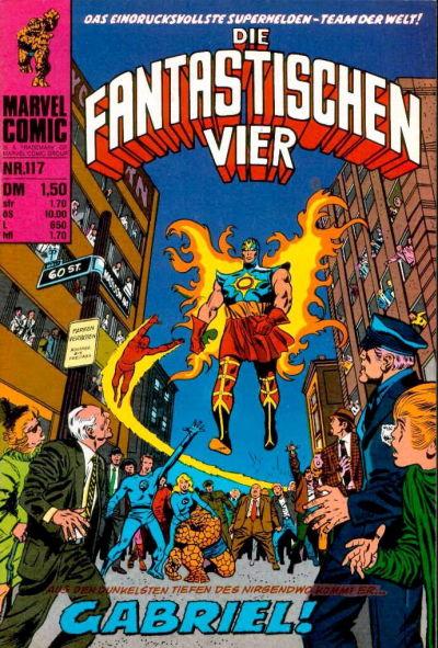 Cover for Die Fantastischen Vier (BSV - Williams, 1974 series) #117