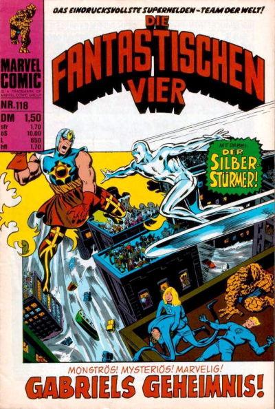 Cover for Die Fantastischen Vier (BSV - Williams, 1974 series) #118