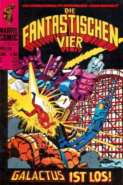 Cover for Die Fantastischen Vier (BSV - Williams, 1974 series) #119