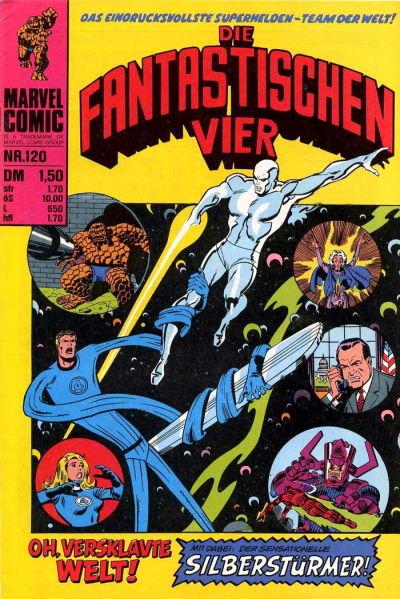 Cover for Die Fantastischen Vier (BSV - Williams, 1974 series) #120