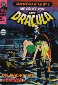 Cover Thumbnail for Die Gruft von Graf Dracula (BSV - Williams, 1974 series) #1