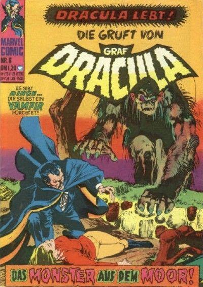 Cover for Die Gruft von Graf Dracula (BSV - Williams, 1974 series) #6