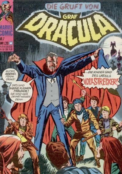 Cover for Die Gruft von Graf Dracula (BSV - Williams, 1974 series) #7