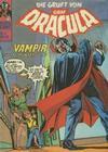 Cover for Die Gruft von Graf Dracula (BSV - Williams, 1974 series) #17