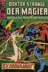 Cover for Doktor Strange der Magier (BSV - Williams, 1975 series) #4