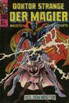 Cover for Doktor Strange der Magier (BSV - Williams, 1975 series) #9