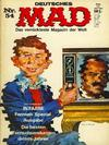 Cover for Mad (BSV - Williams, 1967 series) #54